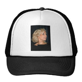 Blond Woman Smiling Hat