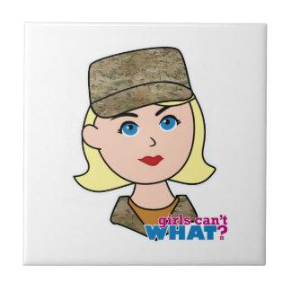 Blonde Air Force Camo Head Tiles