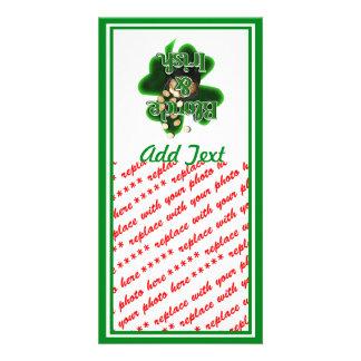 Blonde And Irish Photo Cards