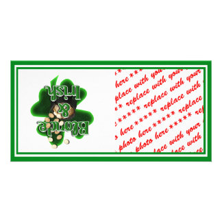 Blonde And Irish Picture Card