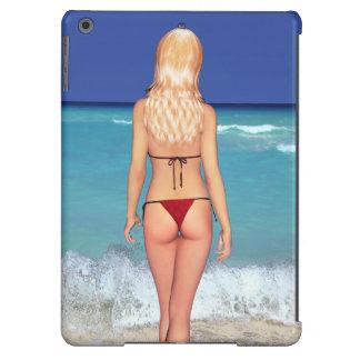 Blonde Bikini Beach Babe 2 Case For iPad Air