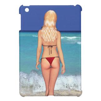 Blonde Bikini Beach Babe 2 iPad Cover
