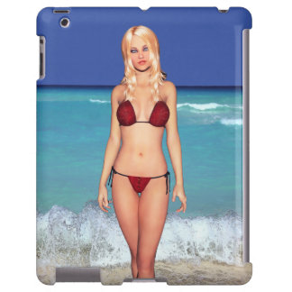 Blonde Bikini Beach Babe