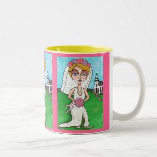 Blonde Bride & Bling - wedding mug
