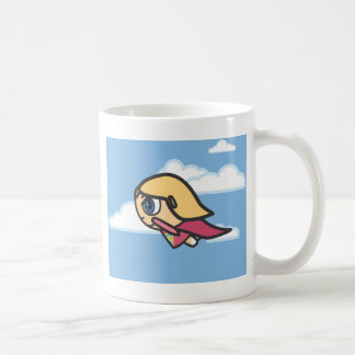 Blonde Character Daylight Flight Mug
