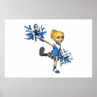 Blonde Cheerleader 2 Posters
