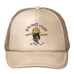 Blonde CSI Girl Mesh Hat
