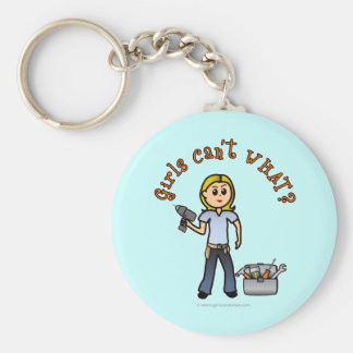 Blonde Do-It-Yourself Diva Key Chains