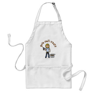 Blonde Do-It-Yourself Diva Standard Apron