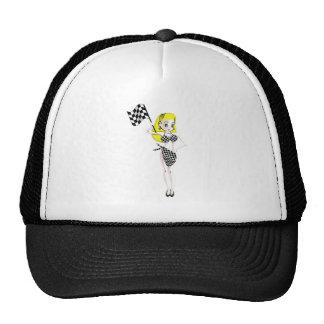 Blonde Flag Girl Cap