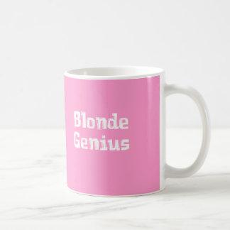 Blonde Genius Gifts Basic White Mug