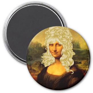 Blonde Mona Lisa Magnet