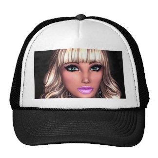 Blonde Party Girl Cap