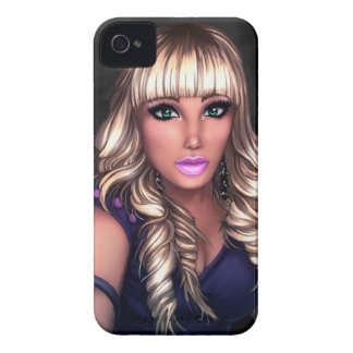 Blonde Party Girl Case-Mate iPhone 4 Case