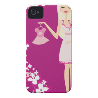 blonde pregnant woman iPhone 4 covers
