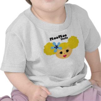 Blonde Pucker Lip Moo Moo Dollz Shirt