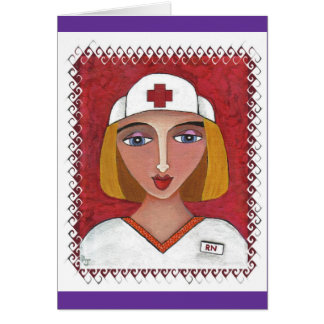 Blonde RN - thank you notes for nurses