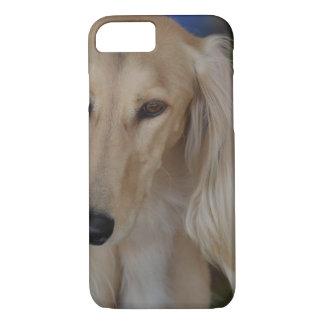 Blonde Saluki Dog iPhone 7 Case