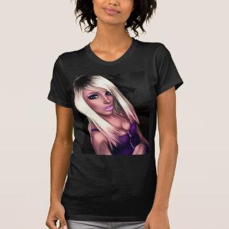 Blonde Skater Girl Tee Shirts