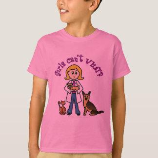 Blonde Veterinarian Girl Tshirts