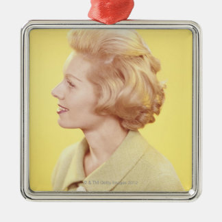 Blonde Woman 2 Christmas Ornament
