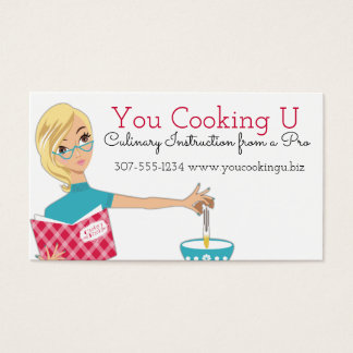 Blonde woman cooking baking cracking eggs