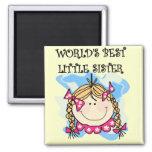 Blonde World's Best Little Sister Tshirts