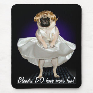 Blondes Mouse Mat