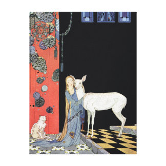 Blondine by Virginia Frances Sterrett Canvas Print