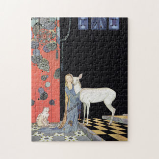 Blondine by Virginia Frances Sterrett Jigsaw Puzzle