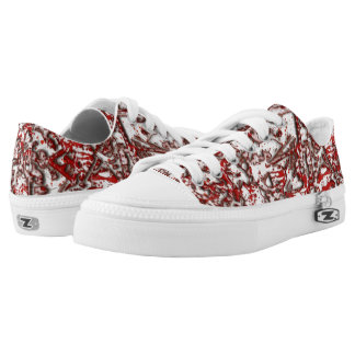 Blood and Guitars Lace=Ups Low Tops
