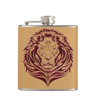 Blood and Sand Vinyl Wrapped Flask
