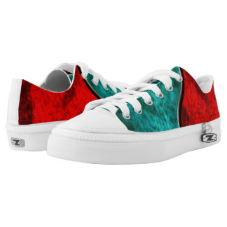 Blood and Water Low Tops