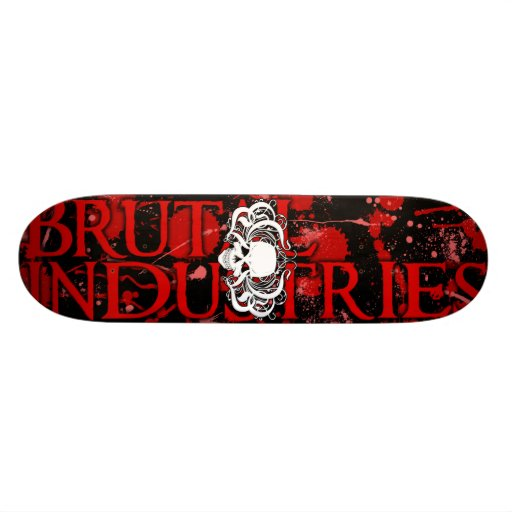 Blood Board Custom Skateboard