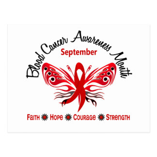 Blood Cancer Awareness Month Butterfly 3.2 Post Card