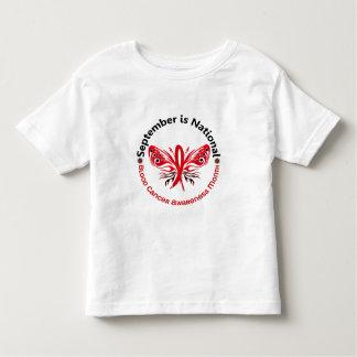Blood Cancer Awareness Month Butterfly 3.3 Tee Shirt