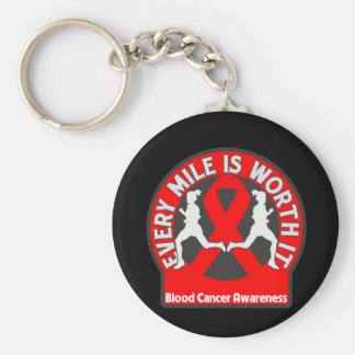 Blood Cancer Every Mile Is Worth It Keychain