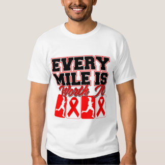 Blood Cancer Every Mile is Worth It Shirts