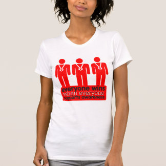 Blood Cancer Everyone Wins With Awareness T-shirt