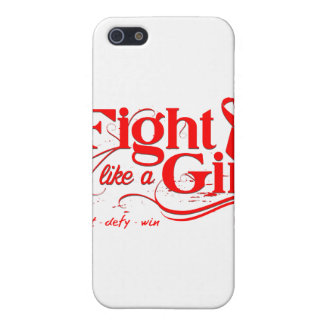 Blood Cancer Fight Like A Girl Elegant iPhone 5 Cover
