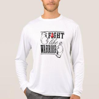 Blood Cancer Fight Like a Warrior Tshirts