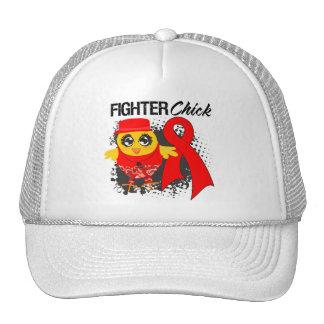 Blood Cancer Fighter Chick Grunge Hats