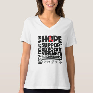 Blood Cancer Hope Support Advocate Tee Shirt