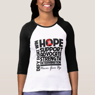 Blood Cancer Hope Support Advocate Tshirts