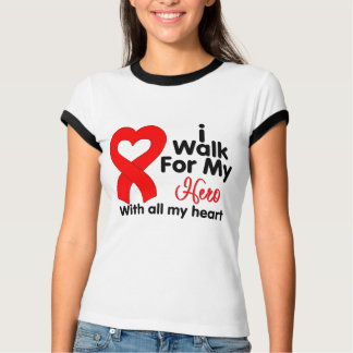 Blood Cancer I Walk For My Hero Shirts