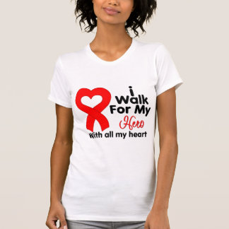 Blood Cancer I Walk For My Hero T-shirt