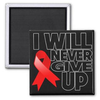 Blood Cancer I Will Never Give Up Fridge Magnet