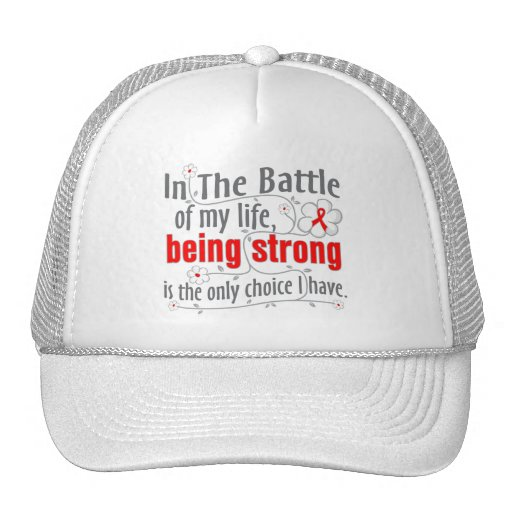 Blood Cancer In The Battle Hat
