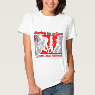 Blood Cancer Moving For A Cure Tshirt