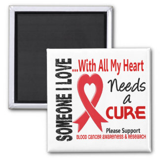 Blood Cancer Needs A Cure 3 Fridge Magnets